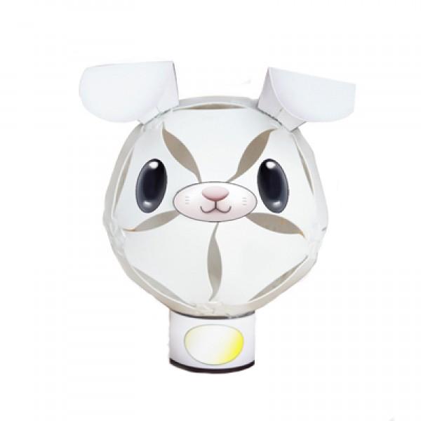 擁瓣小夜燈系列-20pcs (北極兔)