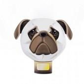 擁瓣小夜燈系列-20pcs (巴哥犬)